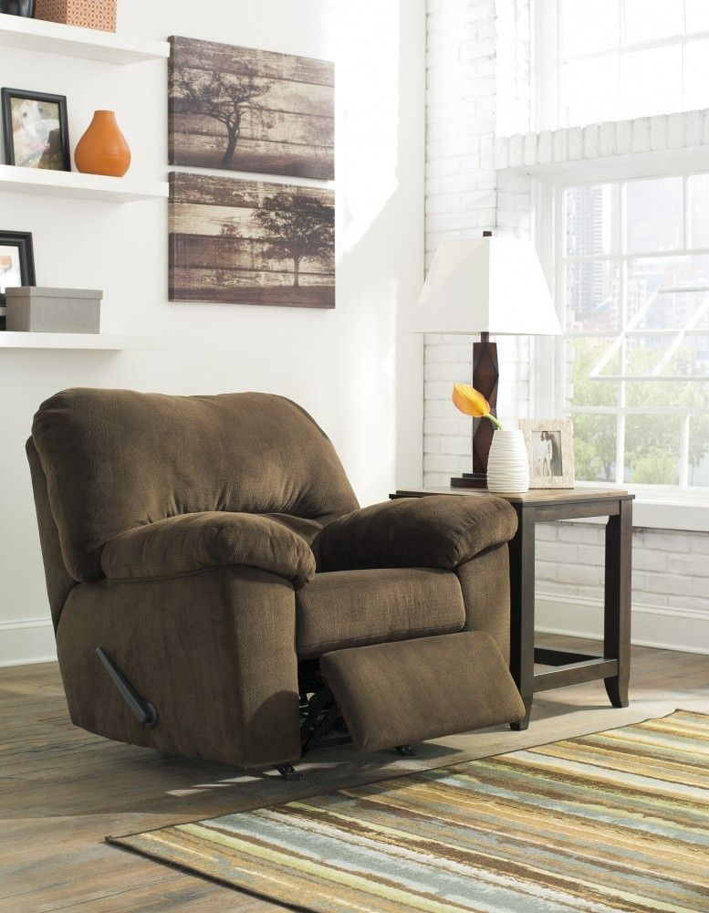 Get Your Dailey   Chocolate   Rocker Recliner At Railway Freight Furniture, Albany  GA Furniture Store.