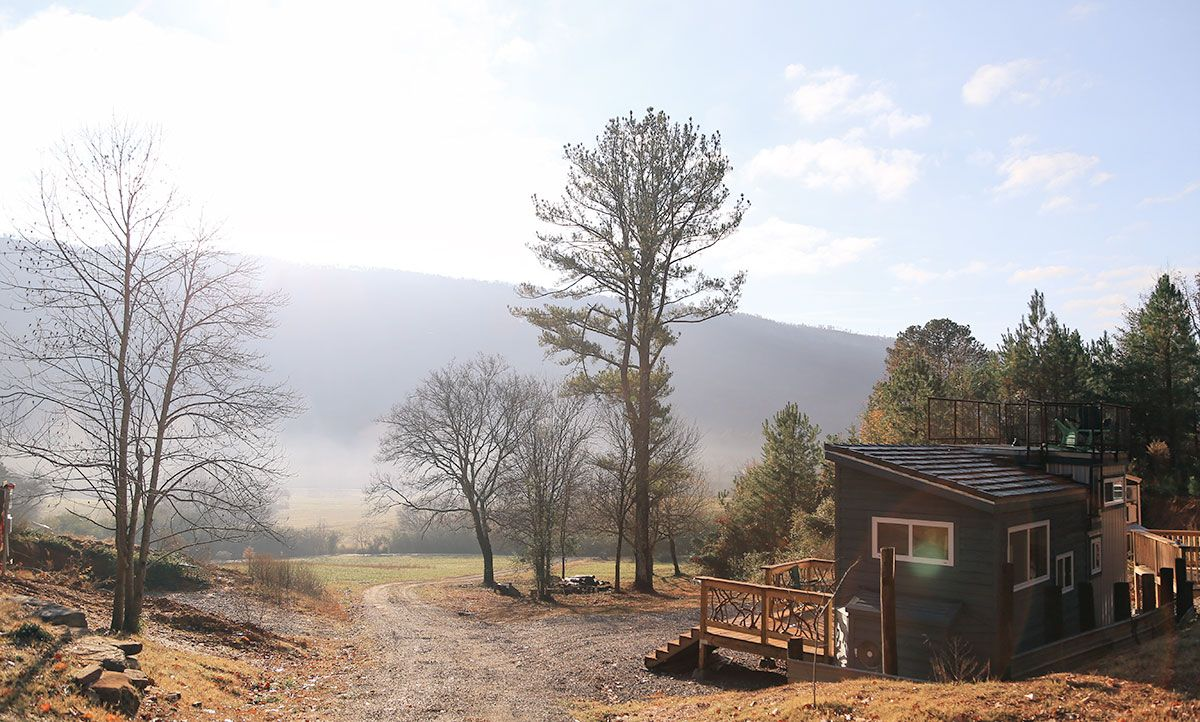 A North Georgia Tiny House Airbnb Gold Cloudland Canyon