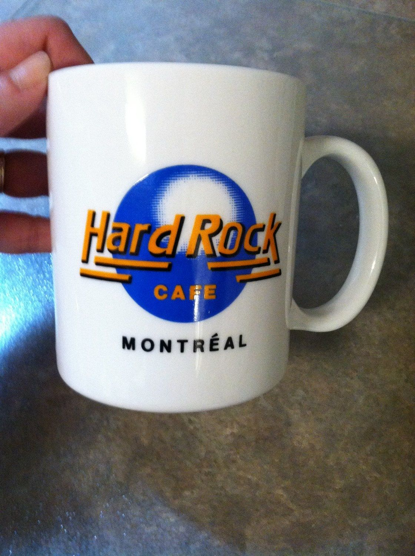 Hard Rock Cafe Mug Montreal