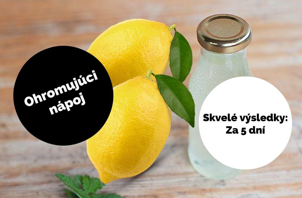 Pite tento nápoj na prázdny žalúdok týždeň a výsledky vás ohromia! - RESSO