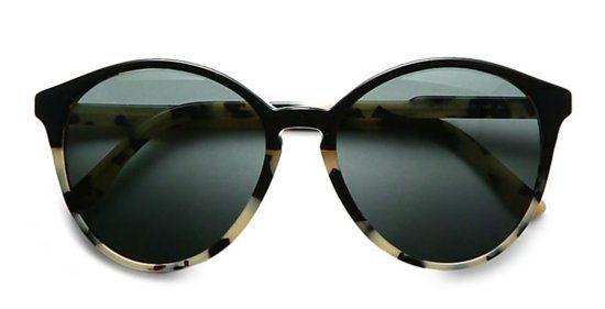 Round: Stella McCartney Oversize Round Acetate Sunglasses // need