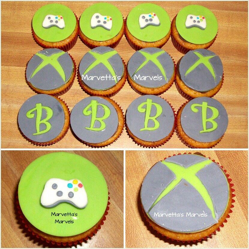 Xbox Cupcakes Xbox Cupcakes Marvetta S Marvels