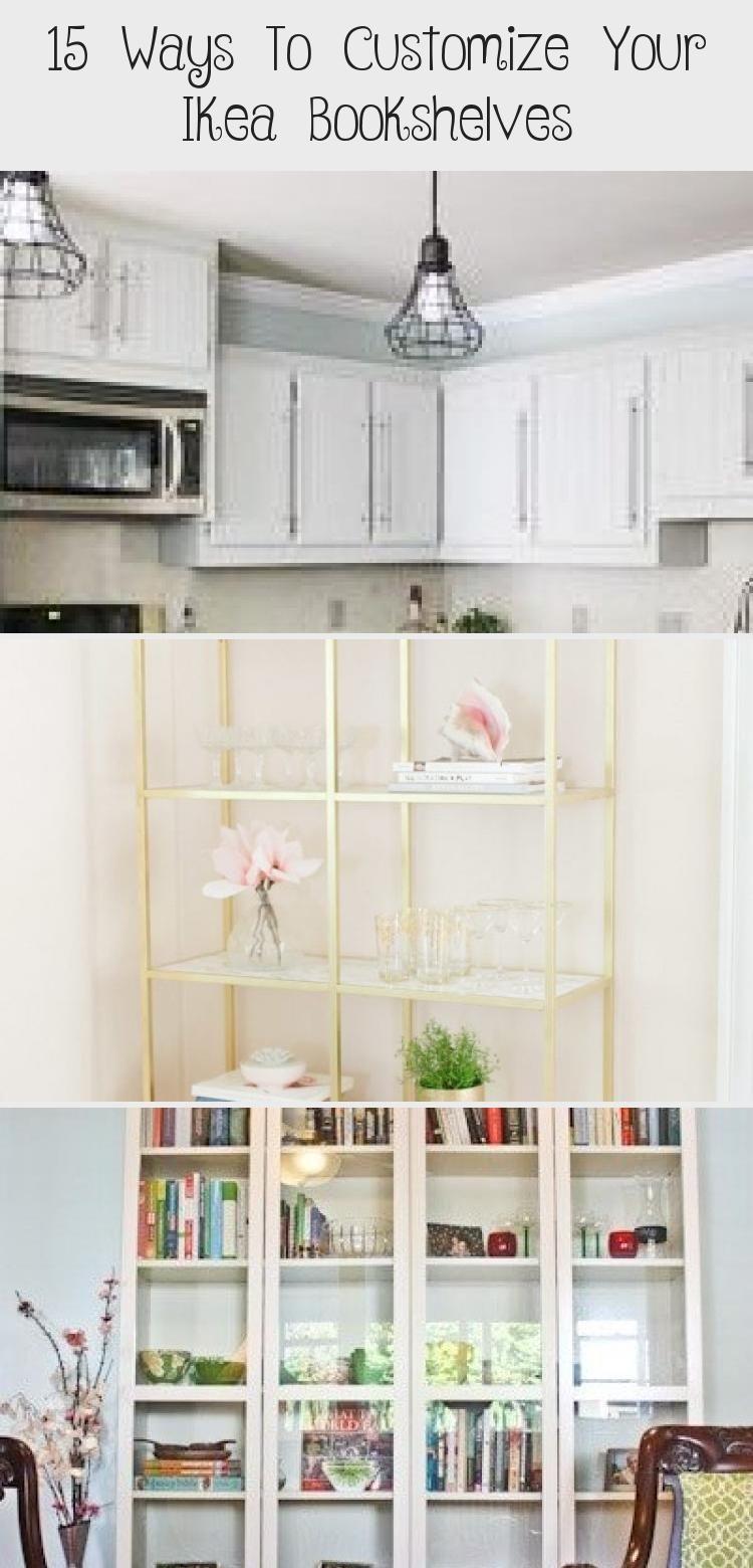 15 Ways To Customize Your Ikea Bookshelves