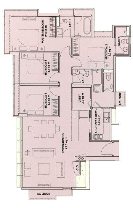 City Square Residences Floor Plan Floor Plans Apartment Floor Plan Residences