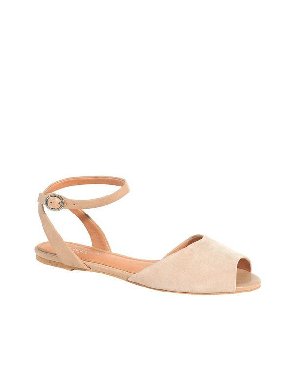 ad6a2cd5b68 Sandalias planas de mujer Zendra Basic Más Zapatos Teñidos