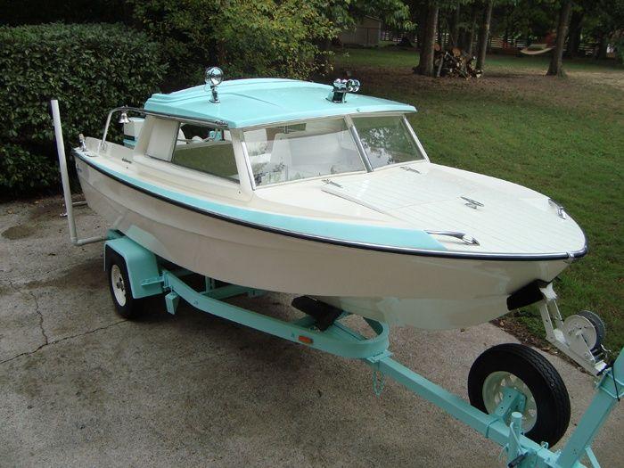 61 Glasspar Del Mar Vintage Fiberglass Boats