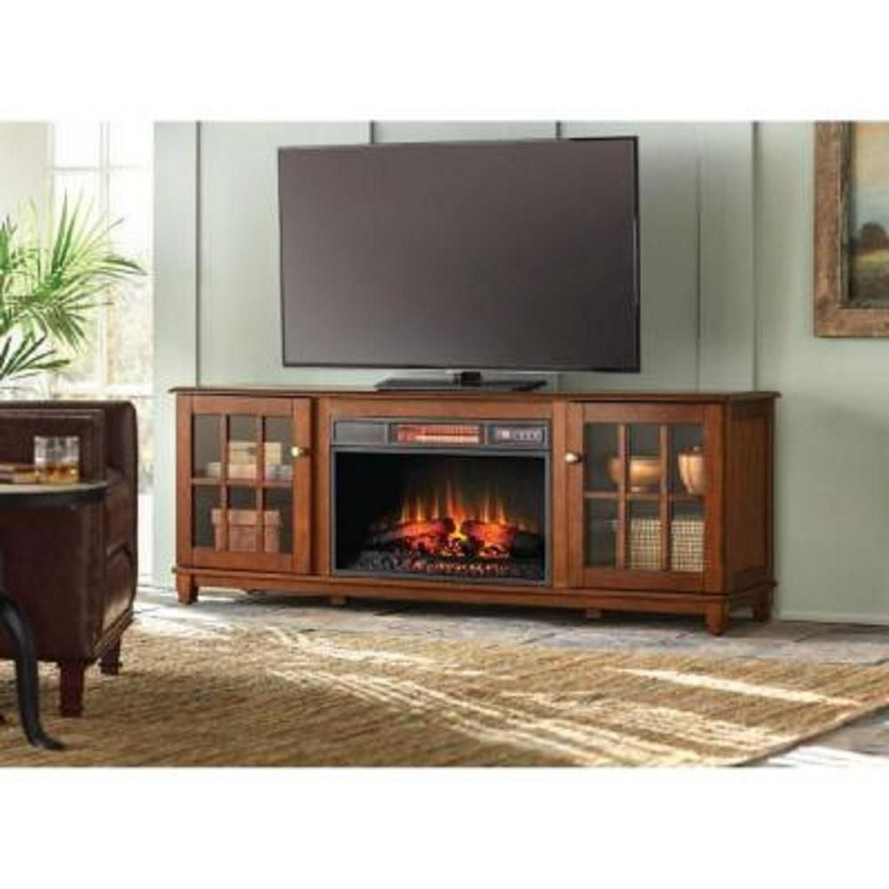 Home Decorators Collection Westcliff 66 In Lowboy Media Console