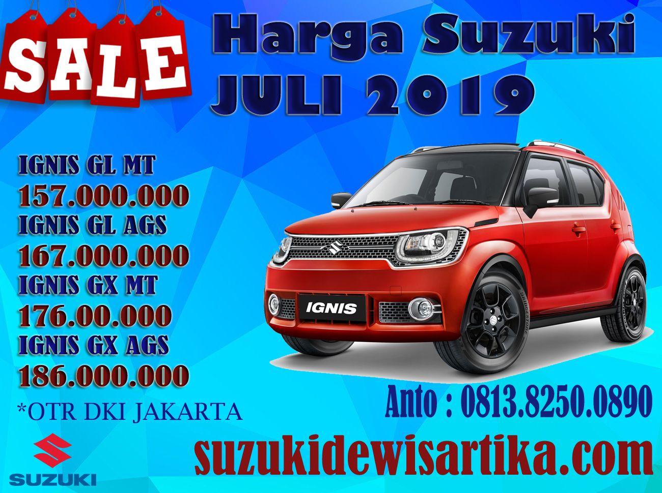 Harga Mobil Suzuki Ignis Bulan Juli 2019 Promo Paket Kredit Dp Dan