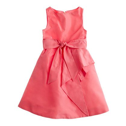 Girls' Collection silk taffeta Tilly dress