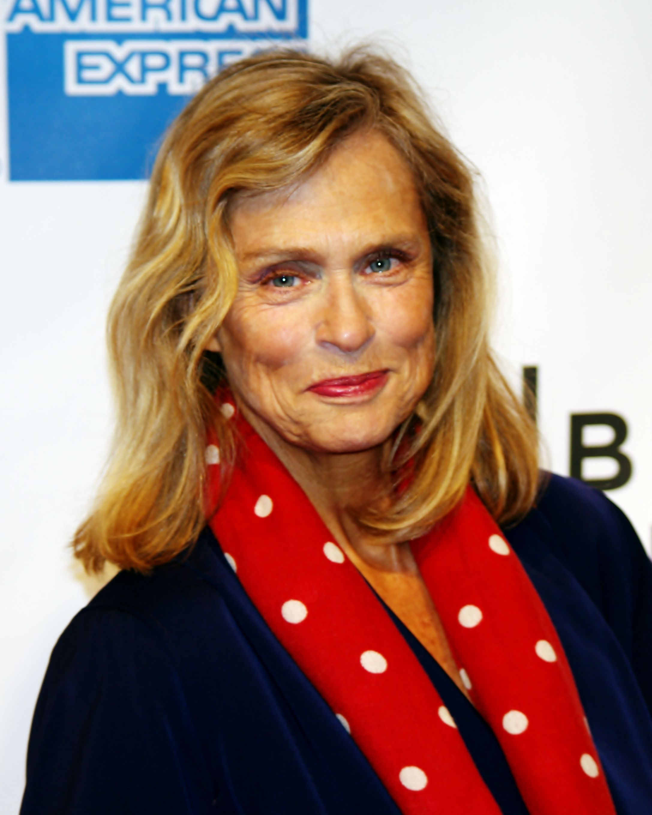 Lauren Hutton, born 17-11-1943