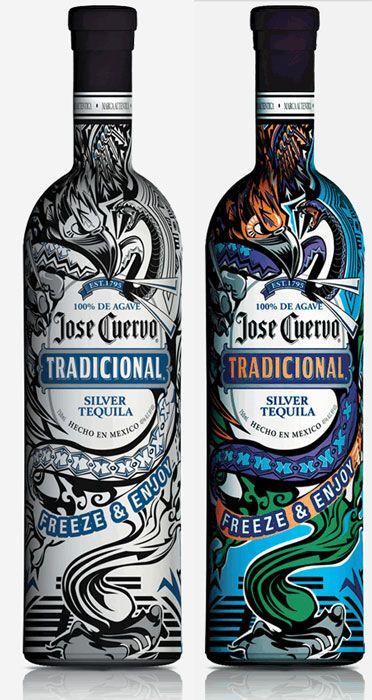 Grito de Colores – José Cuervo – Botella que cambia de color  Curated by grab.co.id