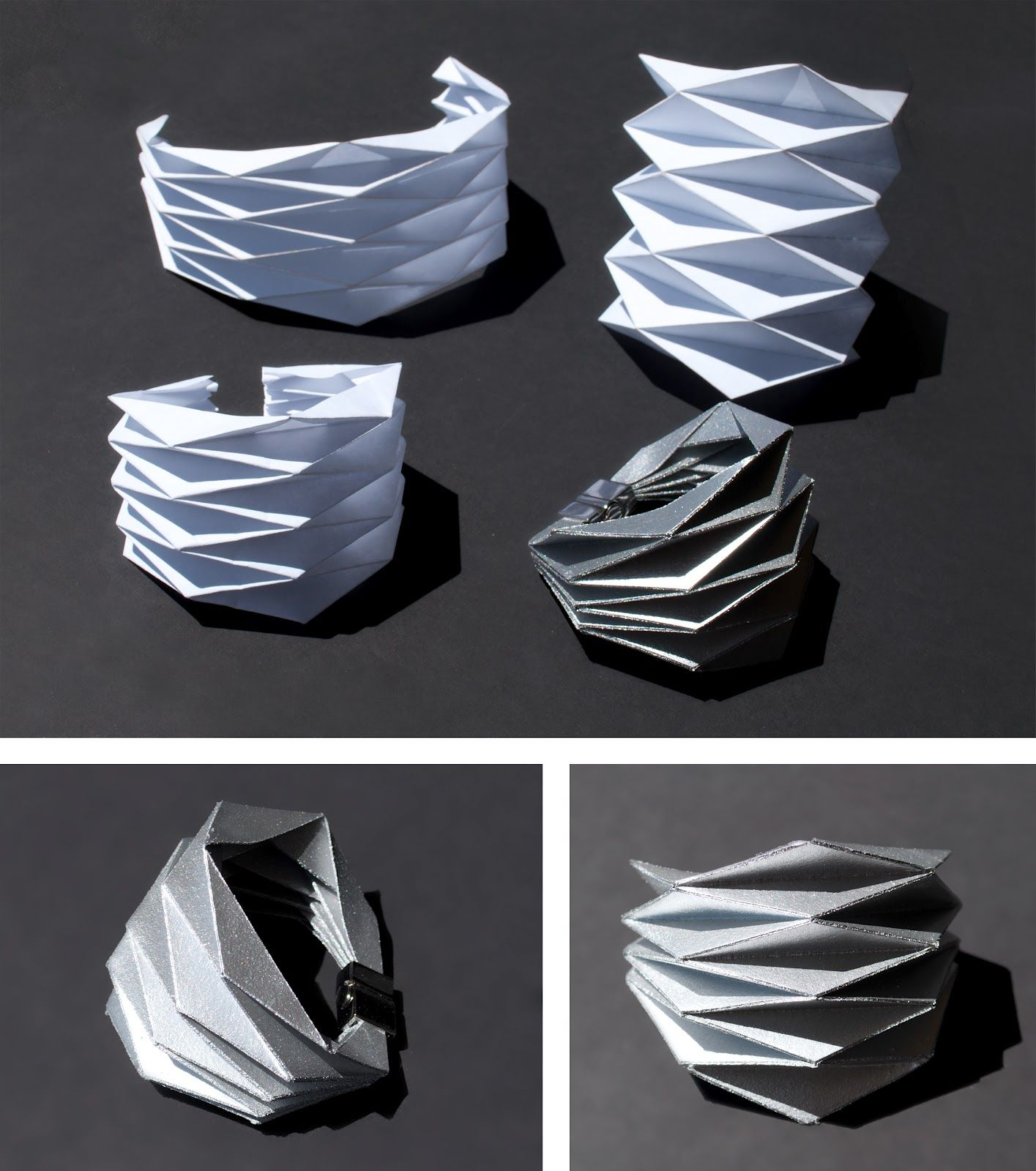 Concreate: DIY Project - Origami Bracelet..... she makes it look easy!!!