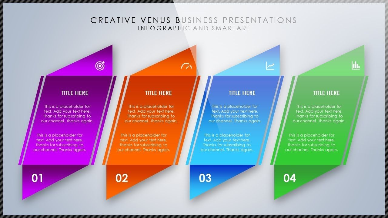 How To Create A Beautiful Smartart Infographic Presentation Slide In