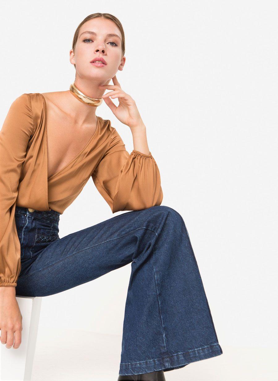 4511384f868 Jeans rectos índigo   Fall Forward   Jeans, Autumn fashion, Fashion
