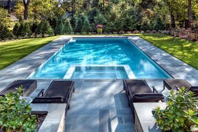 Geometric Swimming Pool Gallery Sunset Pools Spas Pool Patio Designs Swimming Pools Backyard Modern Pool And Spa