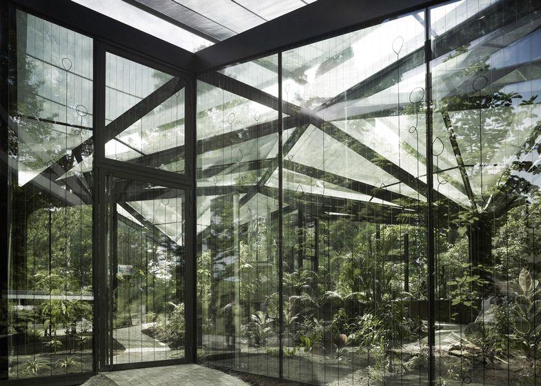 Greenhouse at Grüningen Botanical Garden | Switzerland | Buehrer Wuest Architekten | photo Markus Bertschi