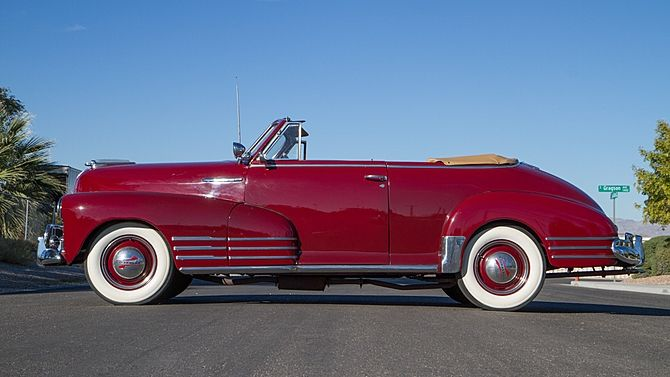 1948 Chevrolet Fleetmaster Convertible Mecum Auctions