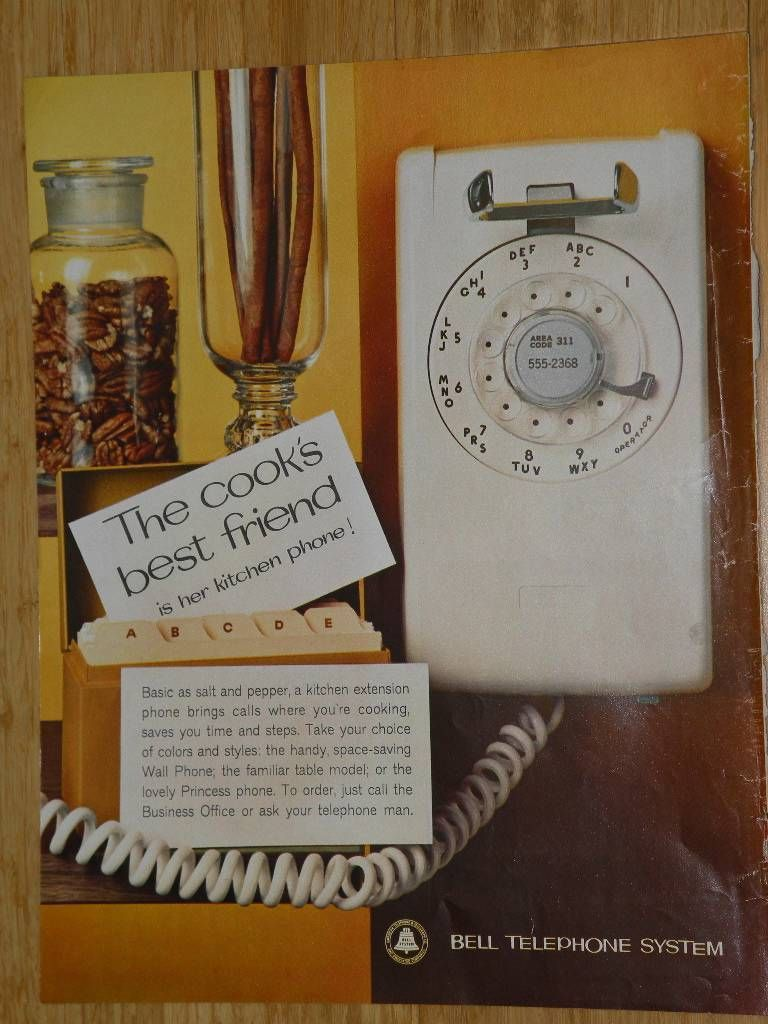 Vintage Magazine Ad - 1962 - Bell System - AT&T