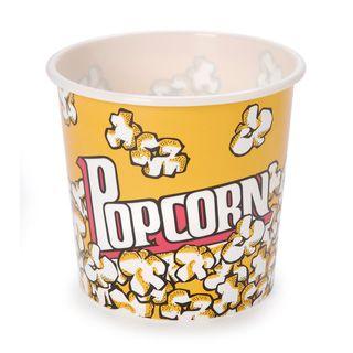 Plastic Popcorn Tub - 5.4 x 5 inches
