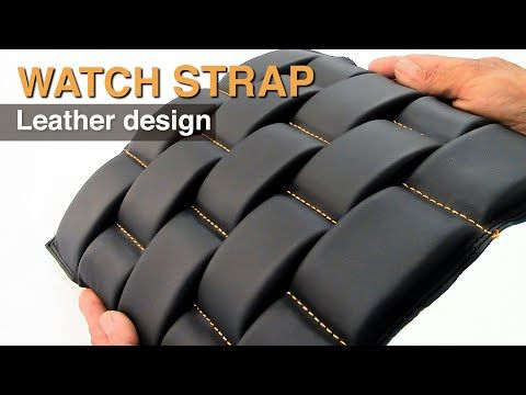 Strap Watch Oyster pattern -  Car Upholstery