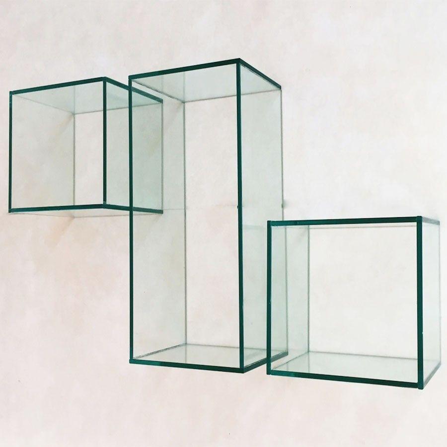 Cerchi una mensola in vetro per completare l'arredamento della tua casa? 15 Idee Su Mensole In Vetro Mensole Vetrate Mensola Angolare