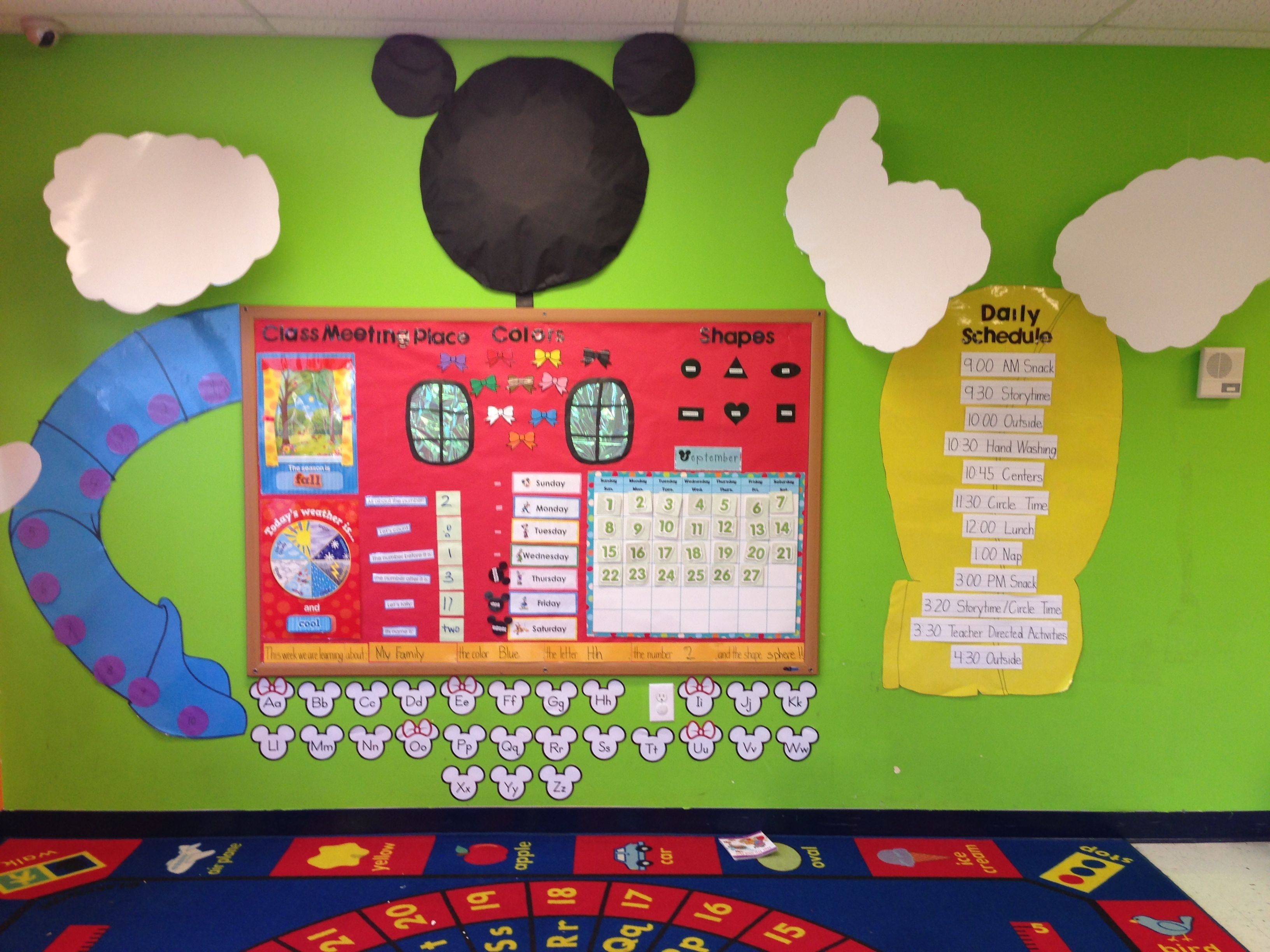 Mickey Classroom Decor ~ Mickey mouse clubhouse classroom