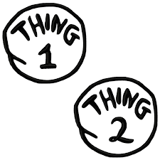 Thing 1 Google Search Thing 1 Dr Seuss Crafts Dr Seuss Week