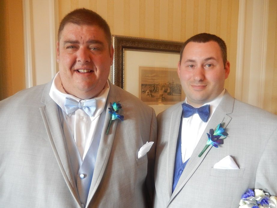 I officiated the wedding of Francesco Desantis and Christopher Parsell at Sea Breeze Point, The Boardwalk Resort, Walt Disney World.  The couple reside in Amherst, Ohio.