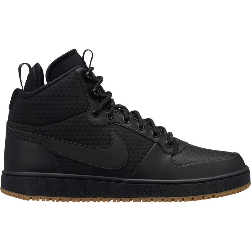 on sale 38464 c8b17 Nike Ebernon Mid Winter Mens Basketball Shoes Lace-up