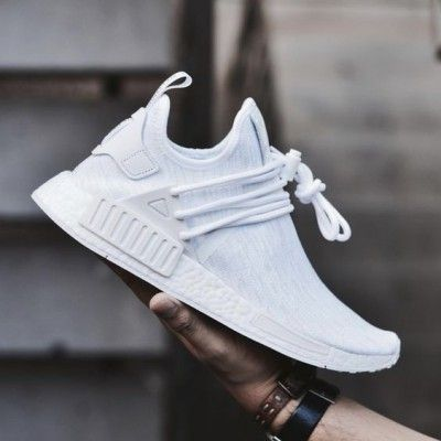 de638c236 Adidas NMD Xr1 Custom Triple White Trainers Mens Clearance Sale ...