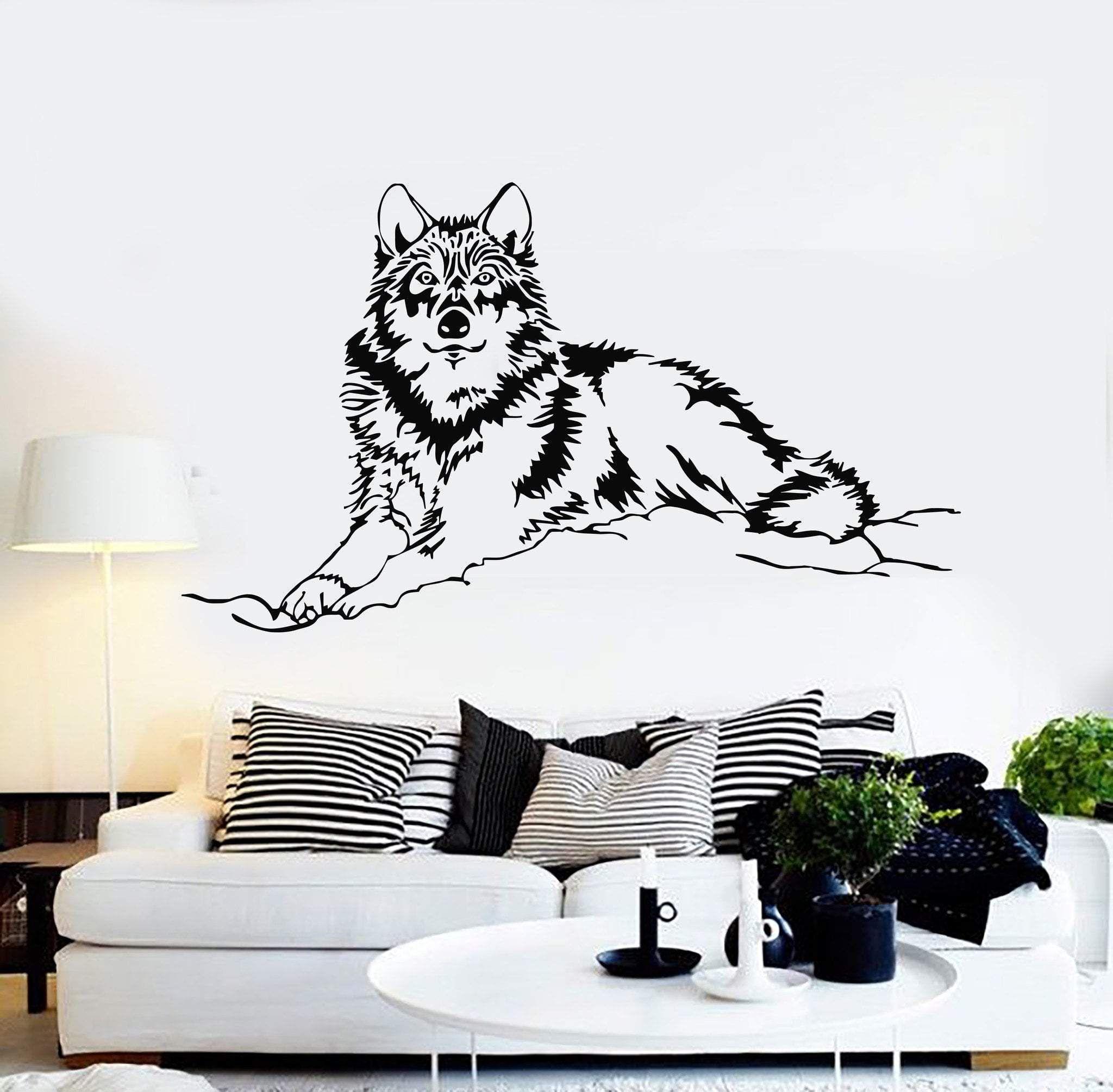 BALD EAGLE ARTWORK Animals Decal Removable WALL STICKER Home Decor Art Mural