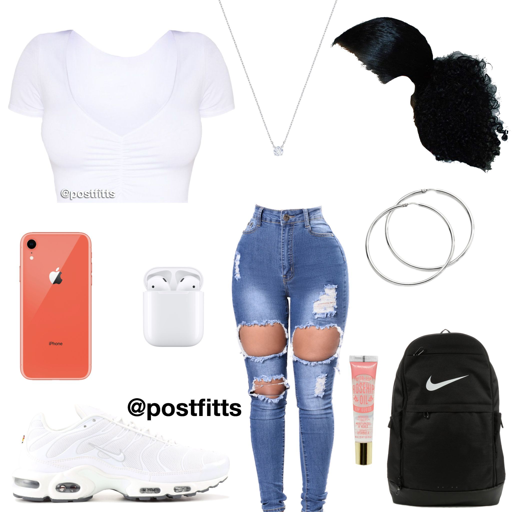 outfits | Instagram: @postfitts #baddieoutfitsforschool outfits | Instagram: @po... 1