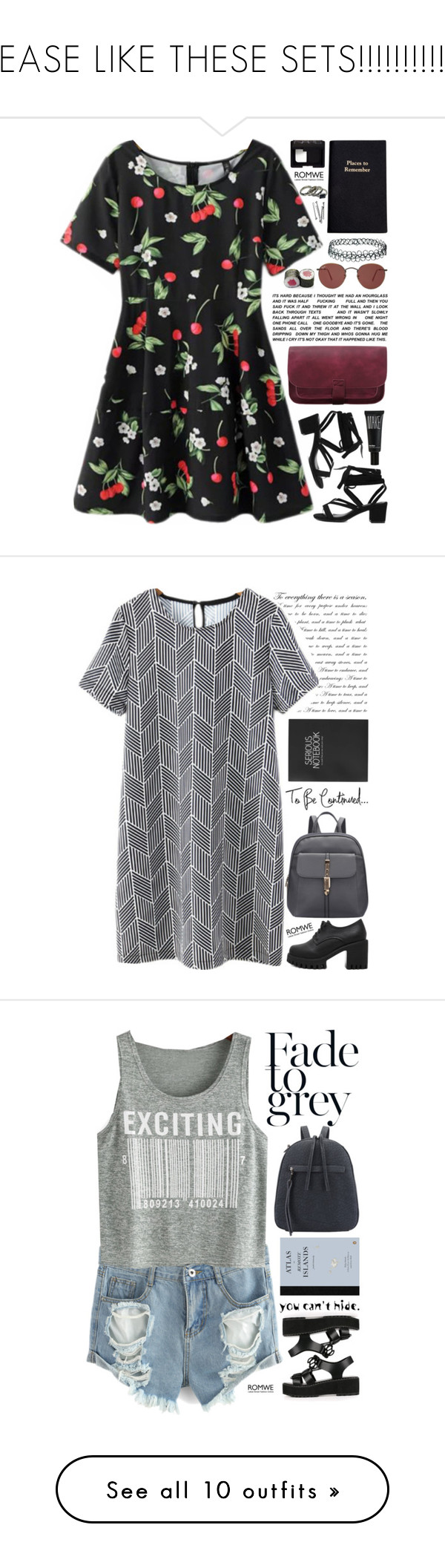 """""""PLEASE LIKE THESE SETS!!!!!!!!!!!!!!"""" by scarlett-morwenna ❤ liked on Polyvore featuring Make, Ray-Ban, Leathersmith, Topshop, BOBBY, NARS Cosmetics, vintage, NLY Accessories, Holga and Natasha Couture"""