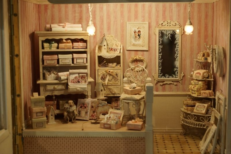 shabby chic atelier art miniature renate stettler puppenhaus pinterest miniatur. Black Bedroom Furniture Sets. Home Design Ideas