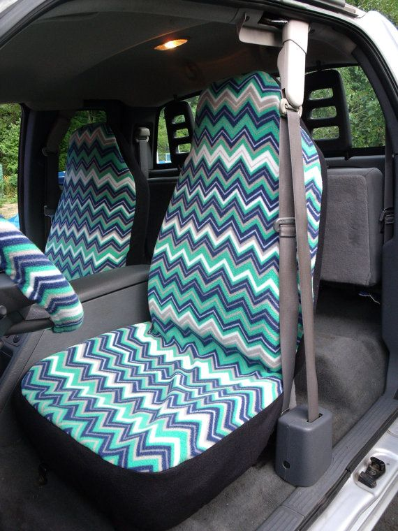 These Car Seat Covers Are Made With Polyester Fleece Fabric And Machine Washable Stretches To Fit Van Truck Seats Easily Snug
