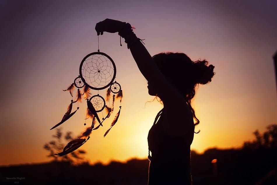 dream catcher, sunset | art | Pinterest