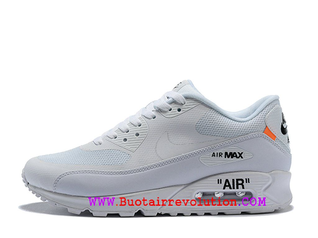 Off White X Nike Air Max 90 Chaussures Ultra Essential Homme