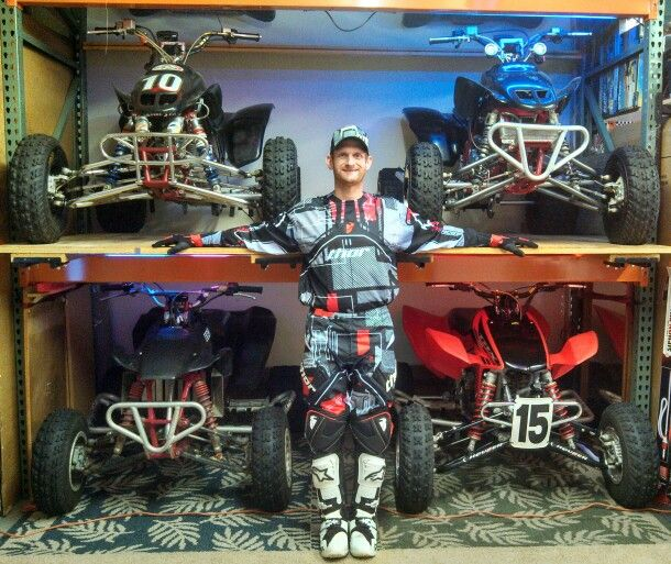 Quad Stacking At It U0026 39 S Finest  Honda Trx250r Trx450r
