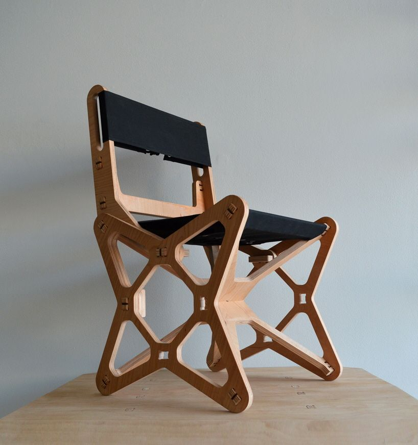 Electron Chair A Waste Free Flat Pack Furniture Solution Flat Pack Furniture Flat Furniture Cnc Furniture Plans