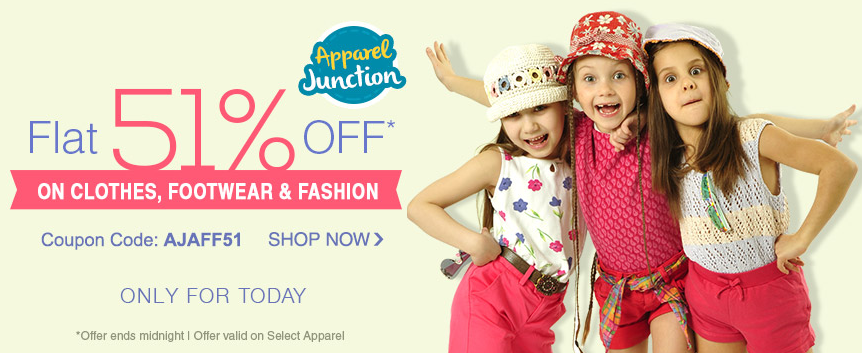 Buy Baby & Kids products From #Firstcry & Get Flat 51% OFF ...