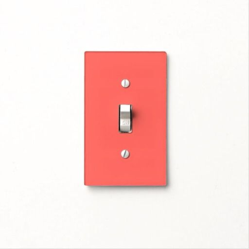Pastel Red Classic Solid Color