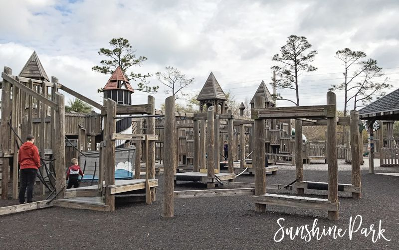 Sunshine Playground At South Beach Park In Jacksonville Florida