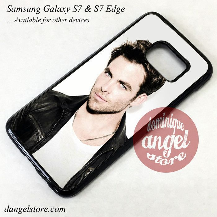 Chris Pine 10 Phone Case for Samsung Galaxy S7 and Galaxy S7 Edge
