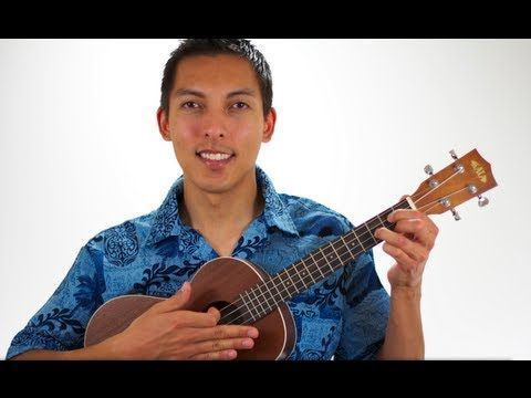Uke Tutorial - Somewhere Over the Rainbow/What A Wonderful ...
