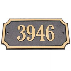 Solid Brass Address Plaques Address Plaque Hanging Signs Plaque