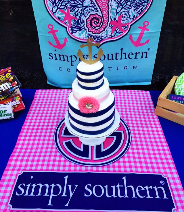 Simply Southern Inspired Birthday Cake And Party Sweetsinclairs