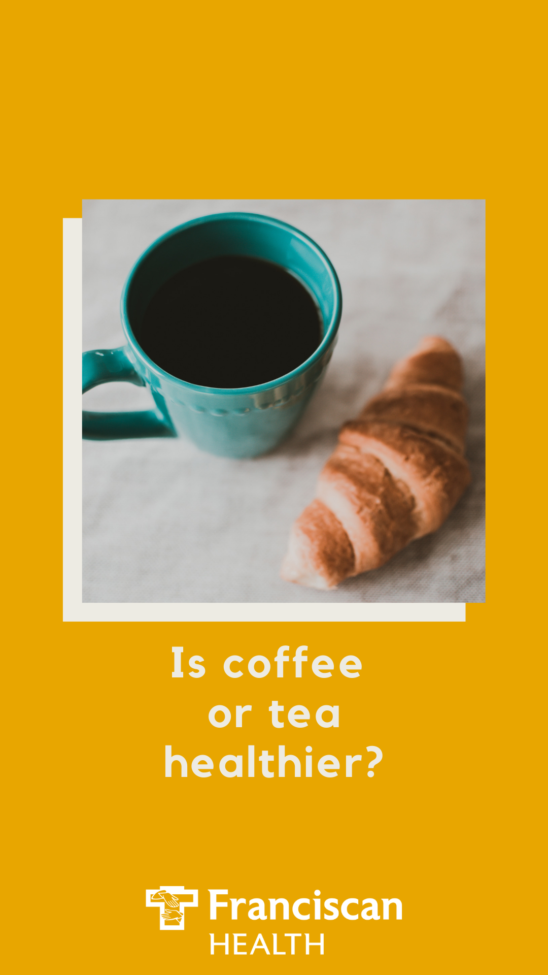 Coffee or tea which is healthier? If you're wondering