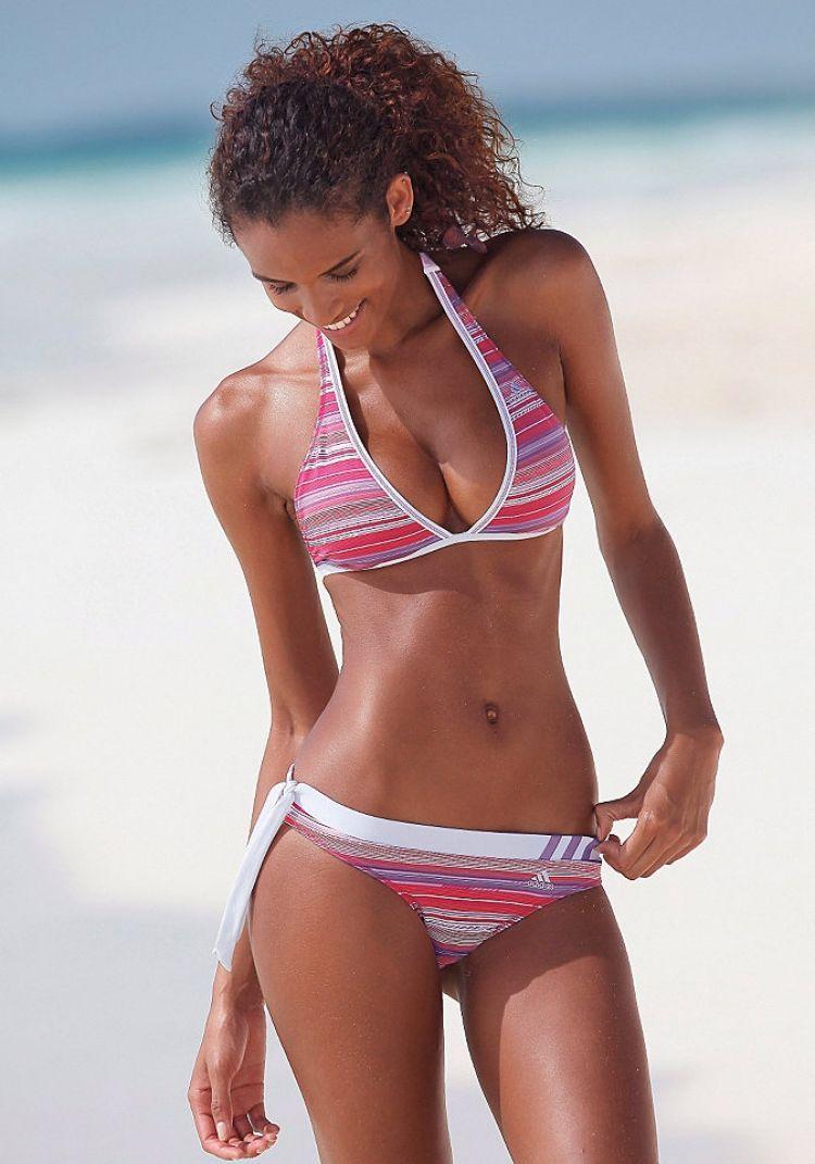 Comprometido Hecho un desastre satélite  Adidas Bikini Rot, Adidas Bikini, Adidas, Moda Kulvar | Bikinis, Adidas  bikini, High neck bikinis