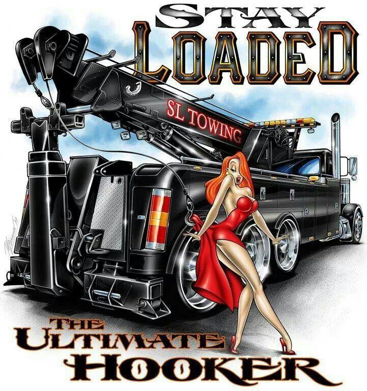 Tow Truck With Images Big Rig Trucks Tow Truck Big Trucks