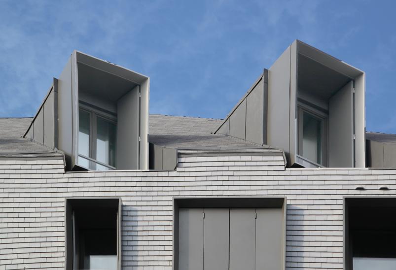 fa ade nord d tail lanterneaux en toiture logements sociaux paris france fresh architectes. Black Bedroom Furniture Sets. Home Design Ideas